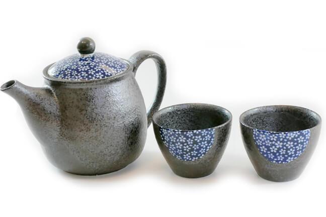 Zestaw Ceramiki Shiroi Hana